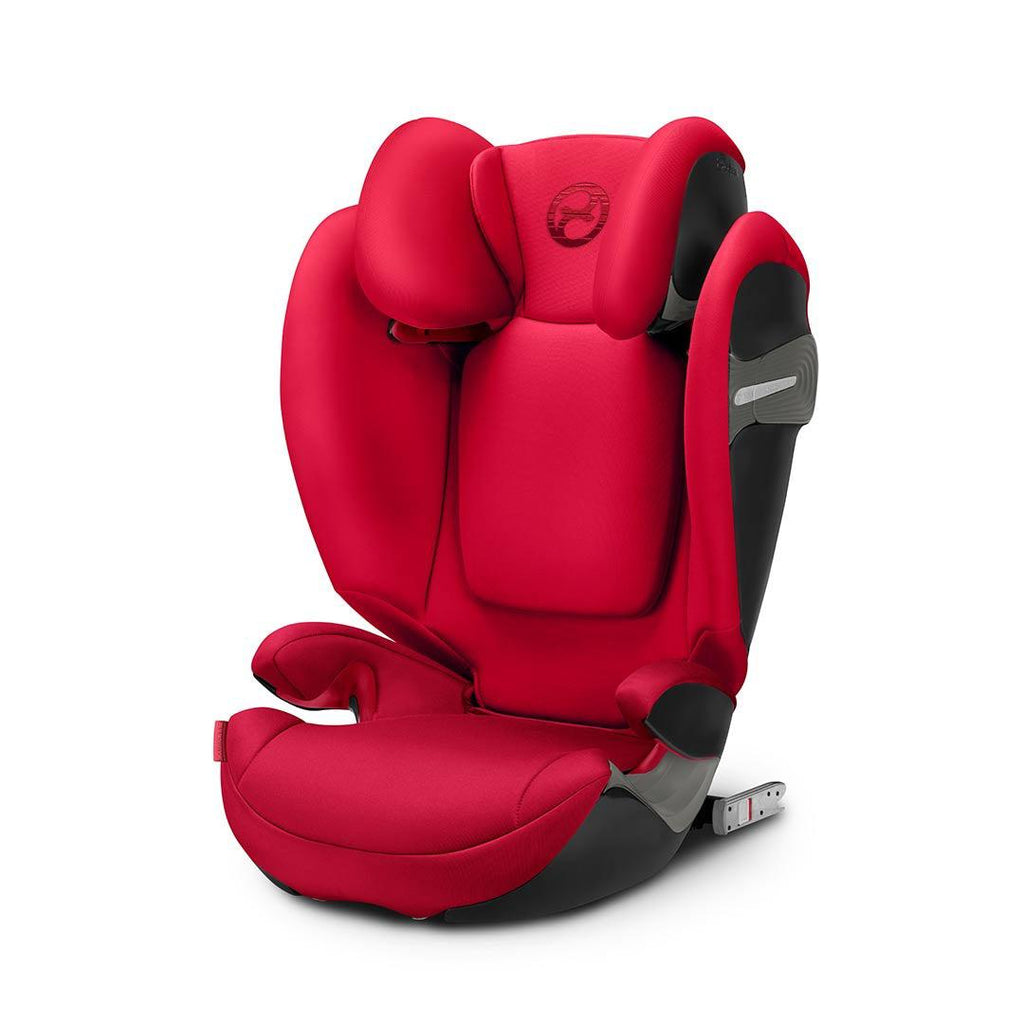 Cybex Solution S-Fix Car Seat - Rebel Red
