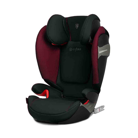 Cybex Solution S-Fix Car Seat - Scuderia Ferrari - Victory Black-Car Seats  ... e3b25f0c319