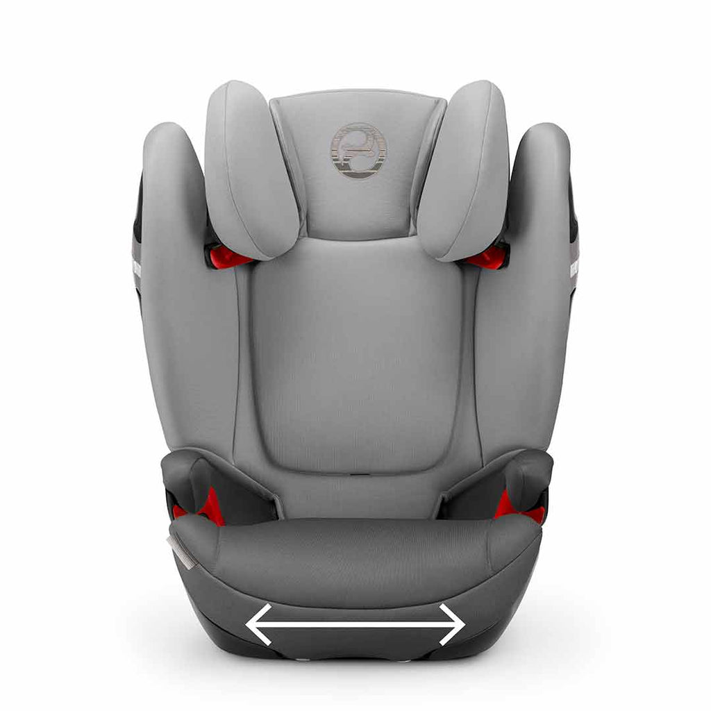 Cybex Solution S-Fix Car Seat - Rebel Red 2