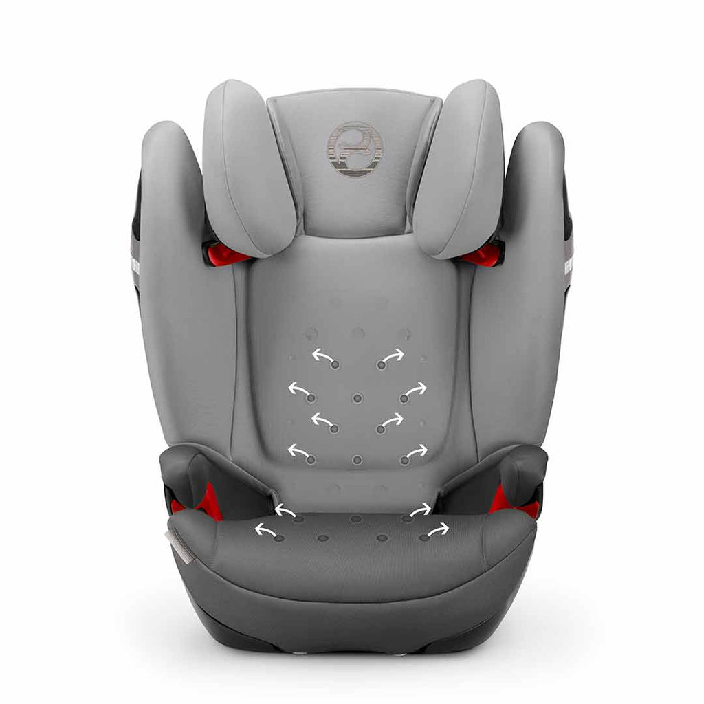 Cybex Solution S-Fix Car Seat - Lavastone Black 2