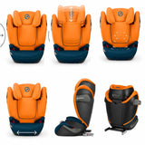 Cybex Solution S-Fix Car Seat - Tropical Blue-Car Seats- Natural Baby Shower