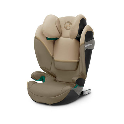 CYBEX Solution S i-Fix Car Seat - 2020 - Classic Beige-Car Seats- Natural Baby Shower