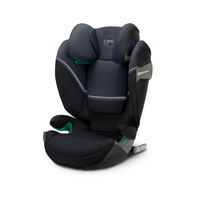CYBEX Solution S i-Fix Car Seat - 2020 - Granite Black-Car Seats- Natural Baby Shower