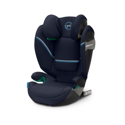 CYBEX Solution S i-Fix Car Seat - 2020 - Navy Blue-Car Seats- Natural Baby Shower