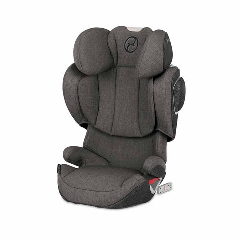 Cybex Solution Z-Fix Plus Car Seat - Manhattan Grey-Car Seats- Natural Baby Shower