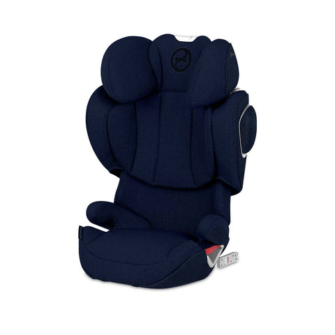 Cybex Solution Z-Fix Plus Car Seat - Midnight Blue-Car Seats- Natural Baby Shower