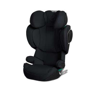 CYBEX Solution Z i-Fix Car Seat - 2020 - Deep Black-Car Seats- Natural Baby Shower