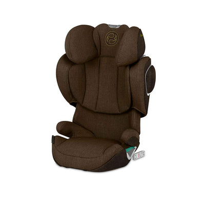 CYBEX Solution Z i-Fix Plus Car Seat - 2020 - Khaki Green-Car Seats- Natural Baby Shower