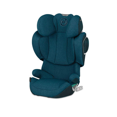CYBEX Solution Z i-Fix Plus Car Seat - 2020 - Mountain Blue-Car Seats- Natural Baby Shower
