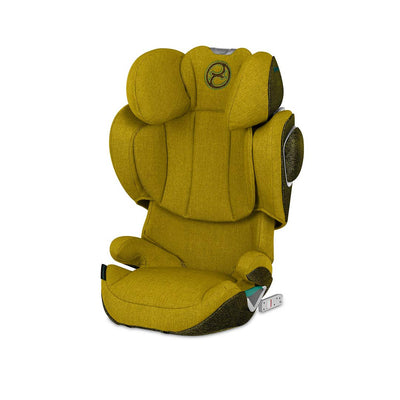CYBEX Solution Z i-Fix Plus Car Seat - 2020 - Mustard Yellow-Car Seats- Natural Baby Shower
