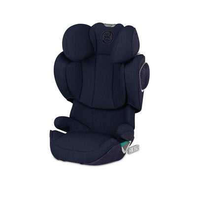 CYBEX Solution Z i-Fix Plus Car Seat - 2020 - Nautical Blue-Car Seats- Natural Baby Shower