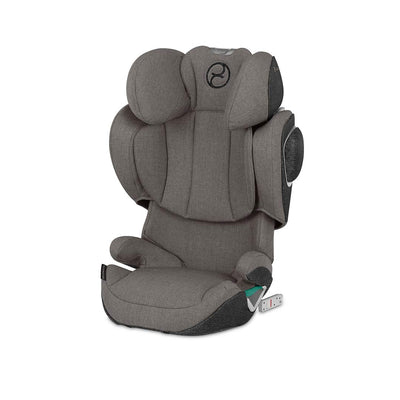CYBEX Solution Z i-Fix Plus Car Seat - 2020 - Soho Grey-Car Seats- Natural Baby Shower