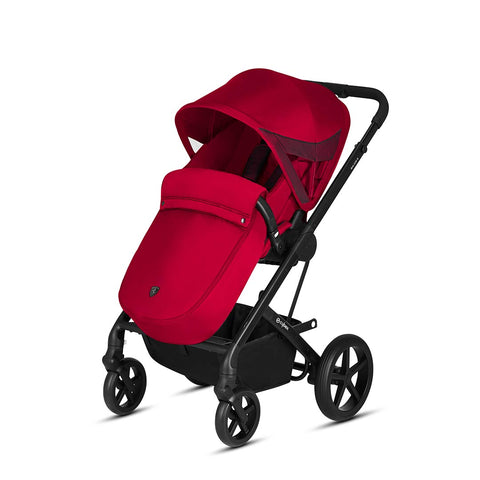 Cybex Stroller & Buggy Footmuff - Scuderia Ferrari - Racing Red-Footmuffs- Natural Baby Shower