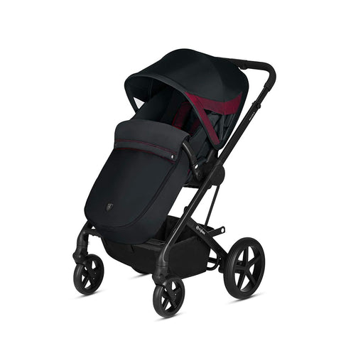 Cybex Stroller & Buggy Footmuff - Scuderia Ferrari - Victory Black-Footmuffs- Natural Baby Shower