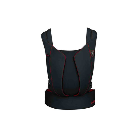 Cybex Yema Click Baby Carrier - Scuderia Ferrari - Victory Black-Baby Carriers- Natural Baby Shower