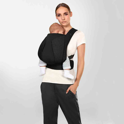 Cybex Yema Click Denim Baby Carrier - Midnight Blue-Baby Carriers- Natural Baby Shower