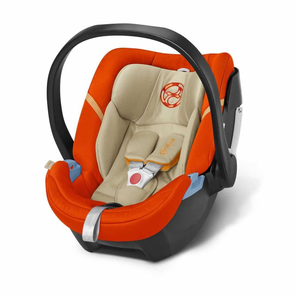 Cybex Aton 4 Car Seat in Autumn Gold