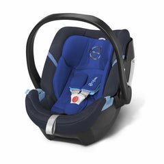 Cybex Aton 4 Car Seat in Royal Blue