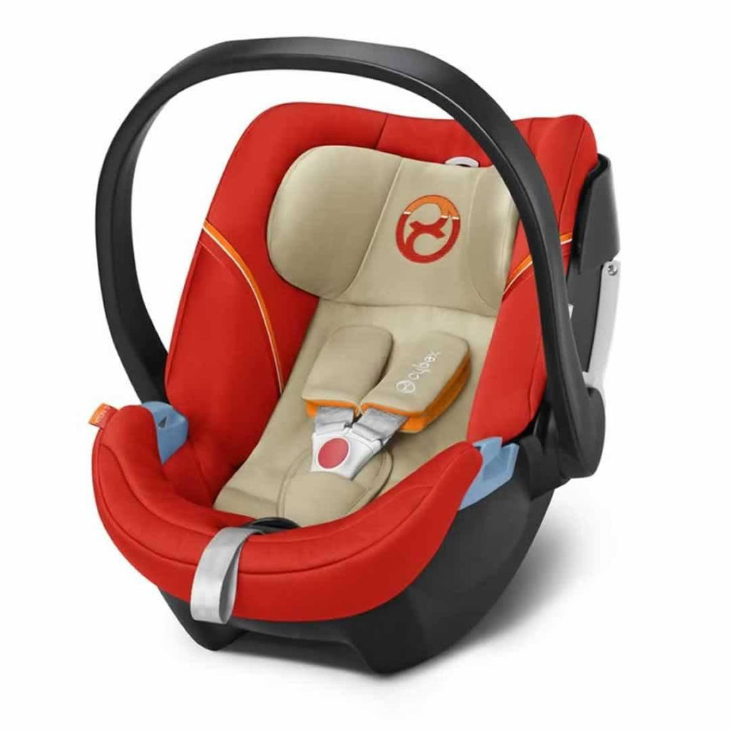 Cybex Aton 5 Car Seat in Autumn Gold