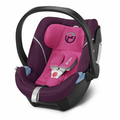 Cybex Aton 5 Car Seat in Mystic Pink
