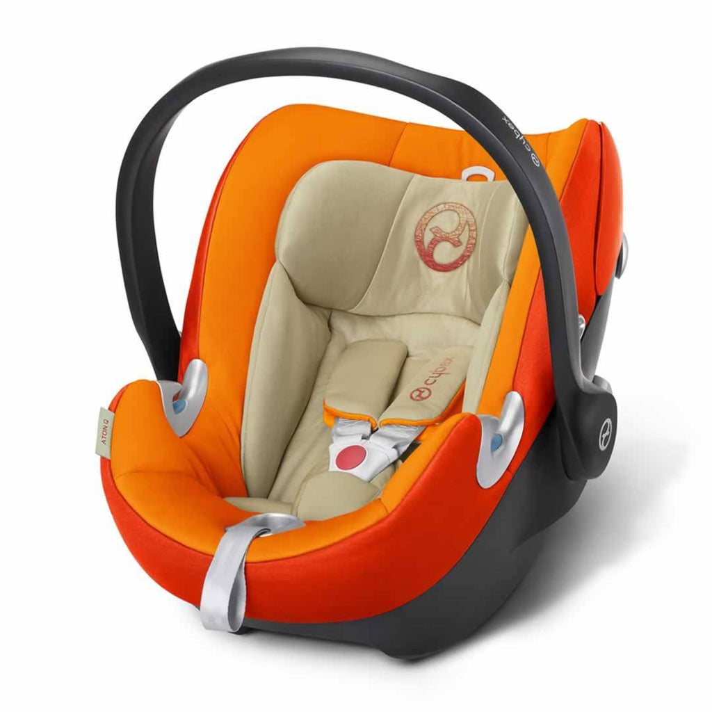 Cybex Aton Q Car Seat in Autumn Gold