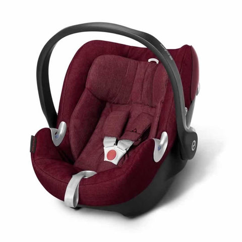Cybex Aton Q Plus Car Seat Infra Red