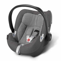 Cybex Aton Q Plus Car Seat in Manhattan Grey