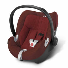Cybex Aton Q Plus Car Seat in Mars Red