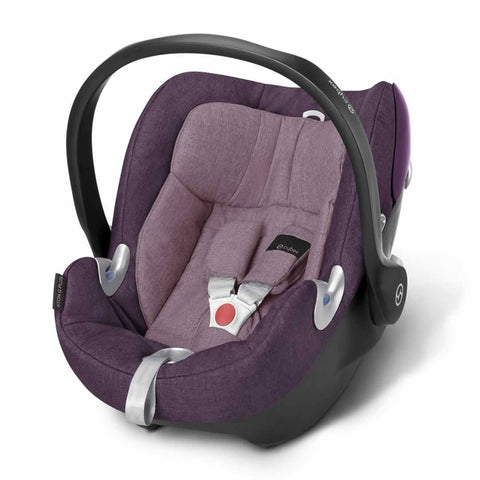 Cybex Aton Q Plus Car Seat - Princess Pink - Car Seats - Natural Baby Shower