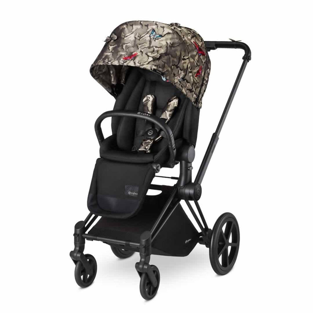 Cybex Priam Pushchair with Lux Seat - Butterfly-Strollers- Natural Baby Shower