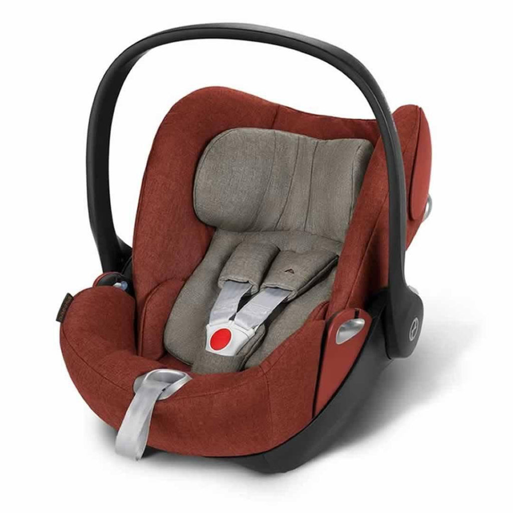 Cybex Cloud Q Plus Car Seat in Autumn Gold