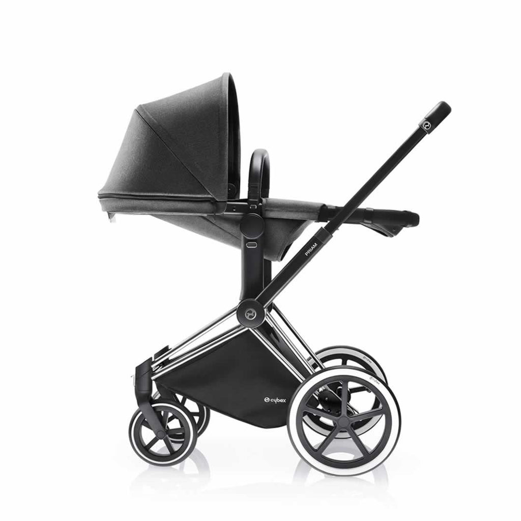 Cybex Priam Pushchair with 2-in-1 Light Seat Lie Flat Manhattan Grey