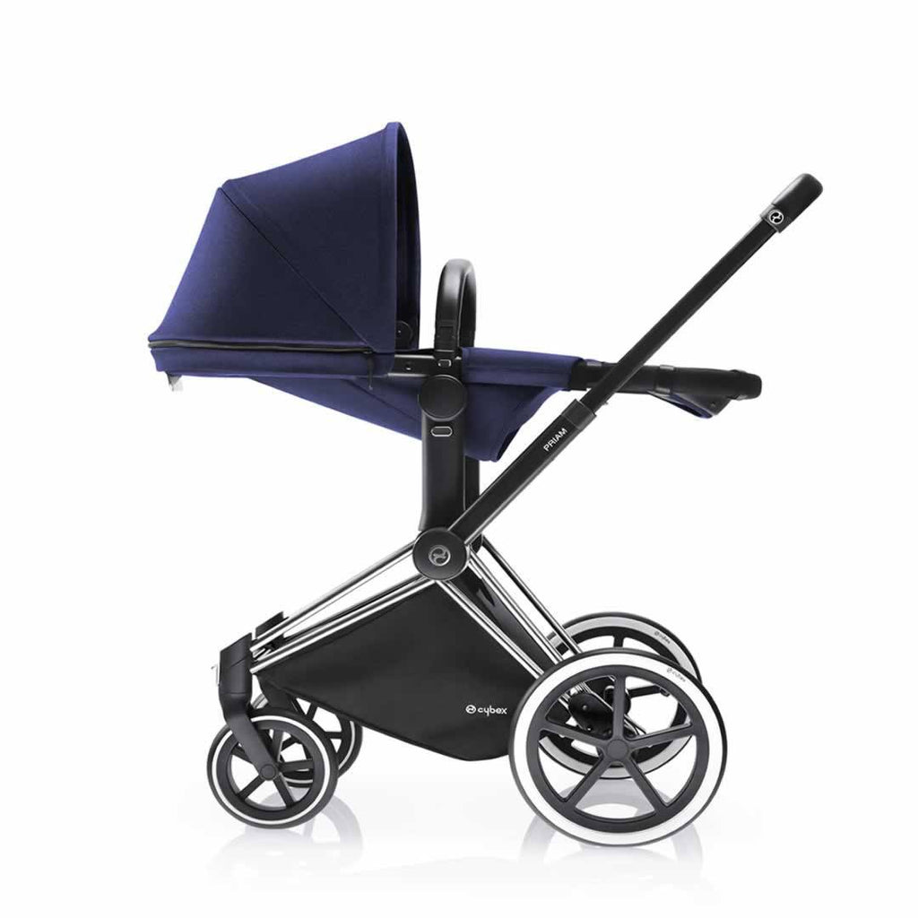 Cybex Priam Pushchair with 2-in-1 Light Seat Lie Flat Royal Blue