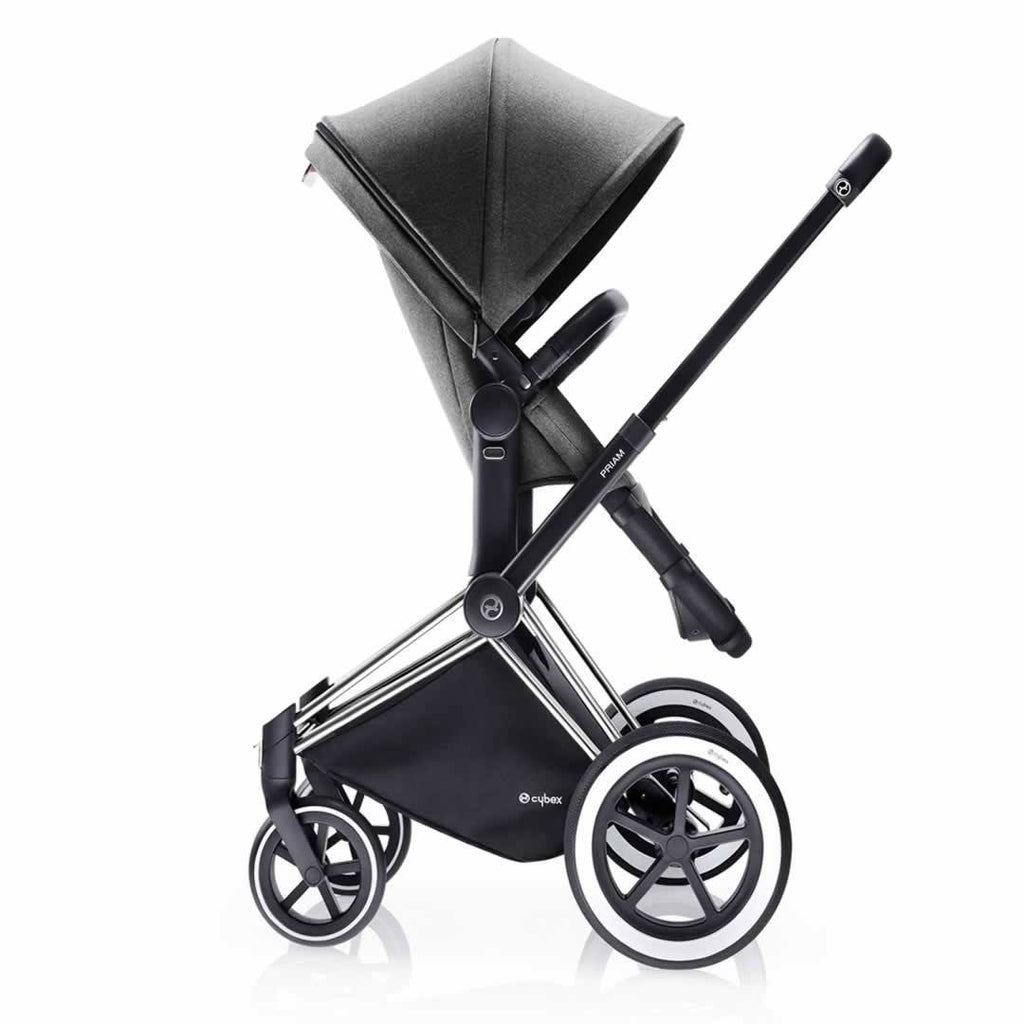 Cybex Priam Pushchair with 2-in-1 Light Seat Side Manhattan Grey