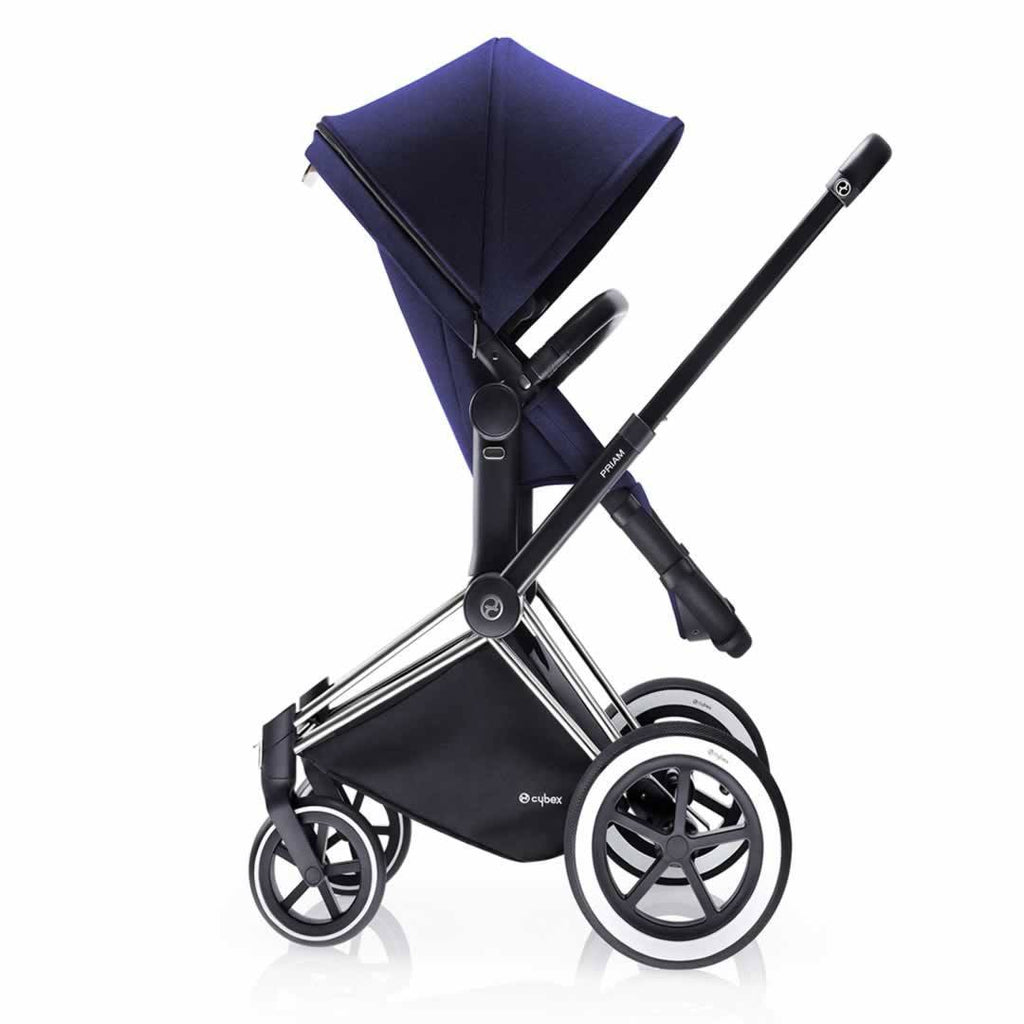 Cybex Priam Pushchair with 2-in-1 Light Seat Side Royal Blue