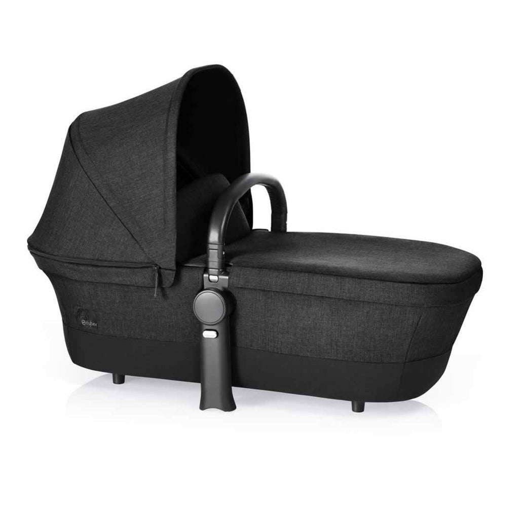 Cybex Priam Pushchair with 2-in-1 Light Seat Happy Black Carrycot