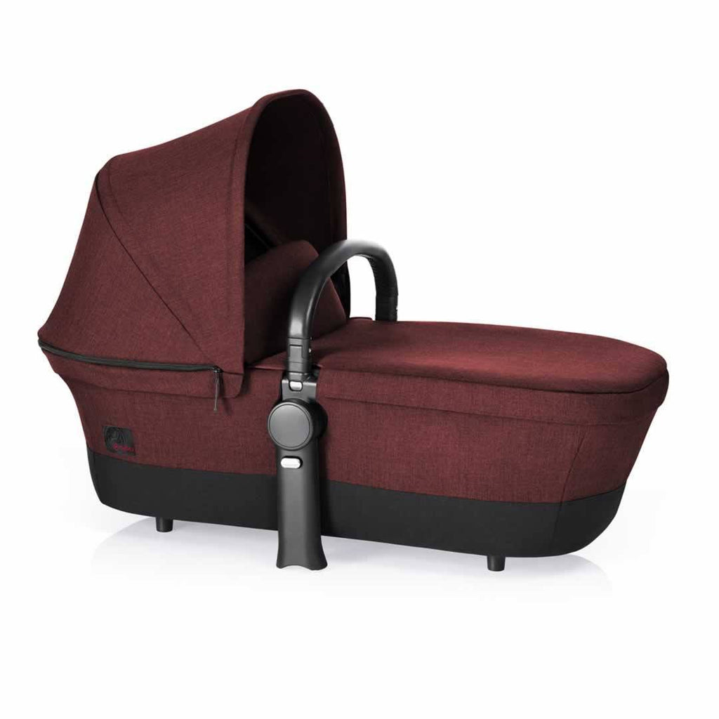 Cybex Priam Pushchair with 2-in-1 Light Seat in Mars Red Carrycot