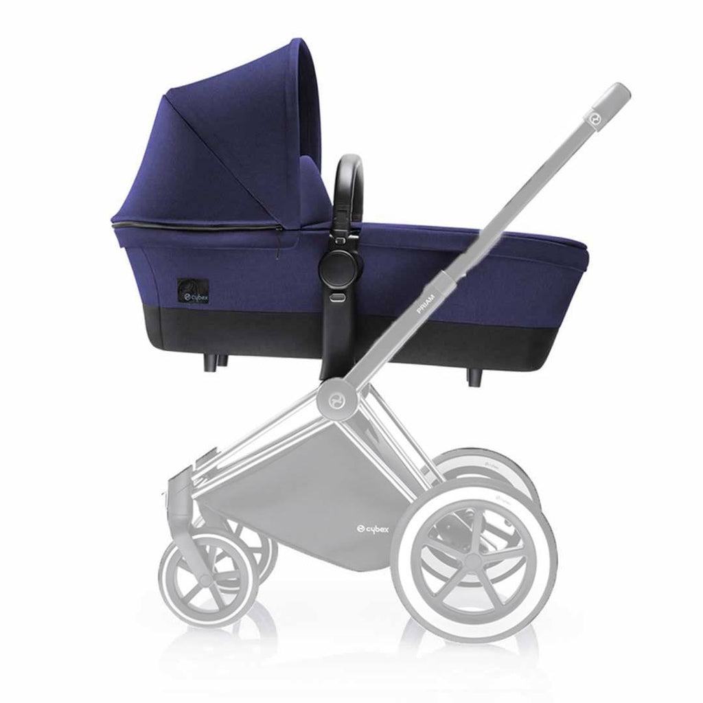 Cybex Priam Carrycot on Chassis Royal Blue
