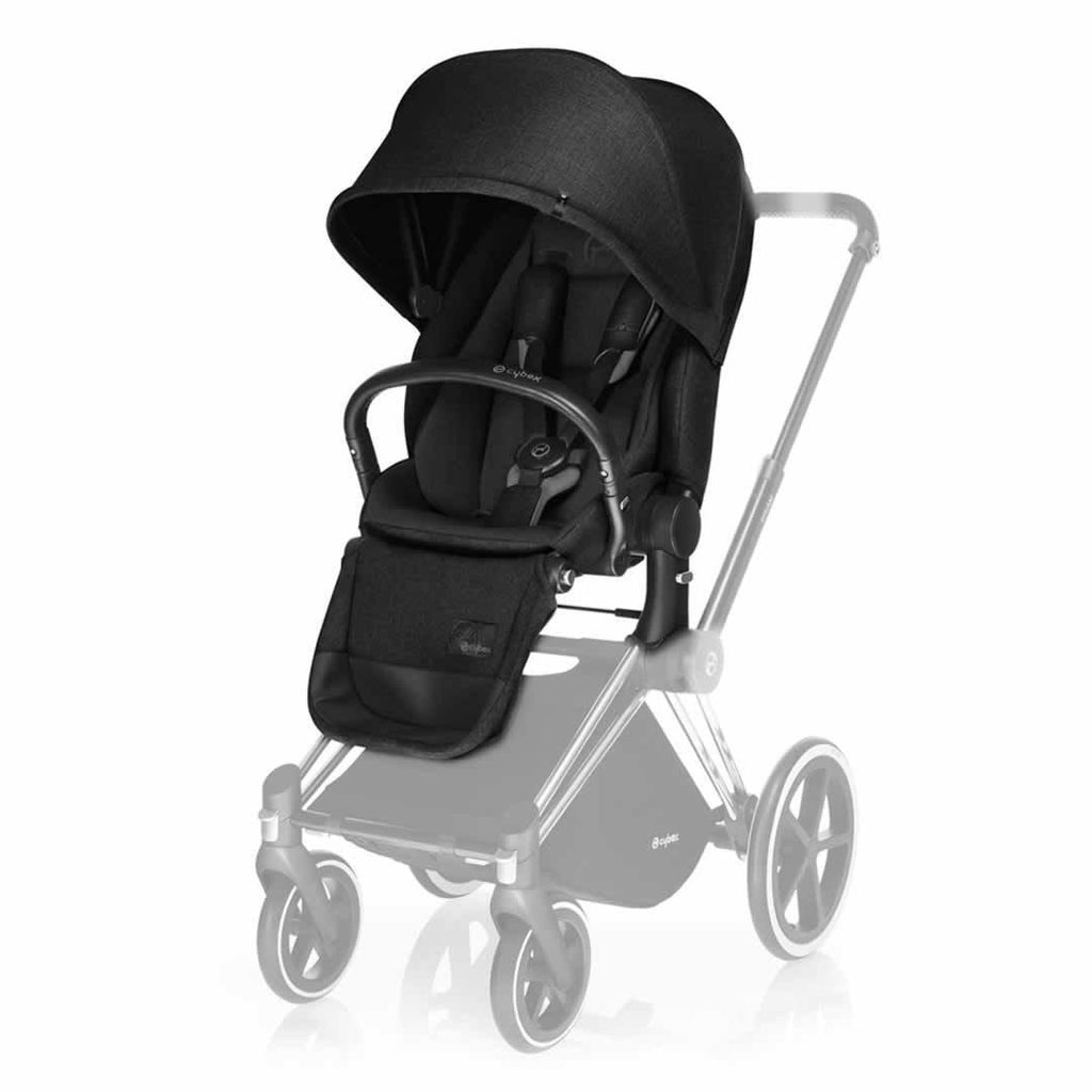 Cybex Priam Lux Seat - Stardust Black - Stroller Seats - Natural Baby Shower