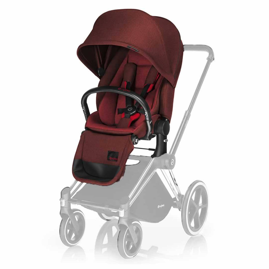 Cybex Priam Lux Seat in Mars Red