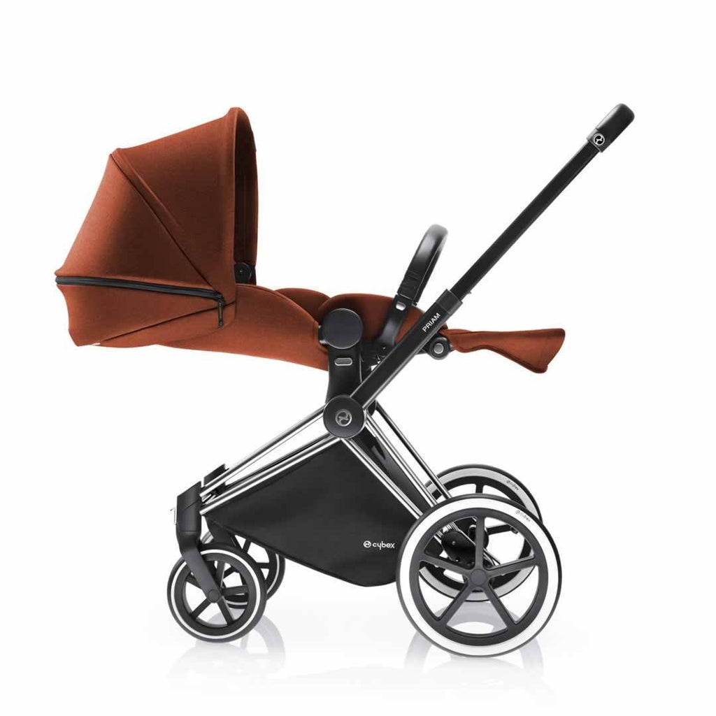 Cybex Priam Pushchair with Lux Seat Autumn Gold Lie Flat