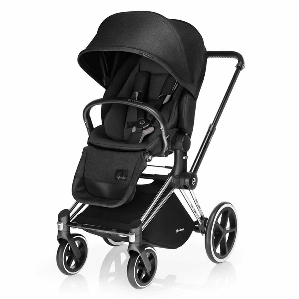 Cybex Priam Pushchair with Lux Seat - Happy Black
