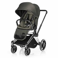 Cybex Priam Pushchair with Lux Seat in Olive Khaki
