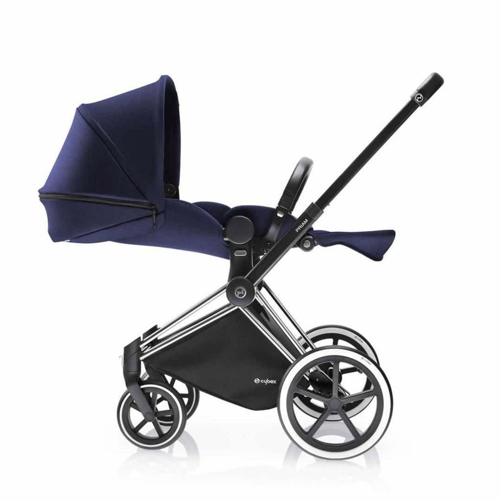 Cybex Priam Pushchair with Lux Seat Royal Blue Lie Flat