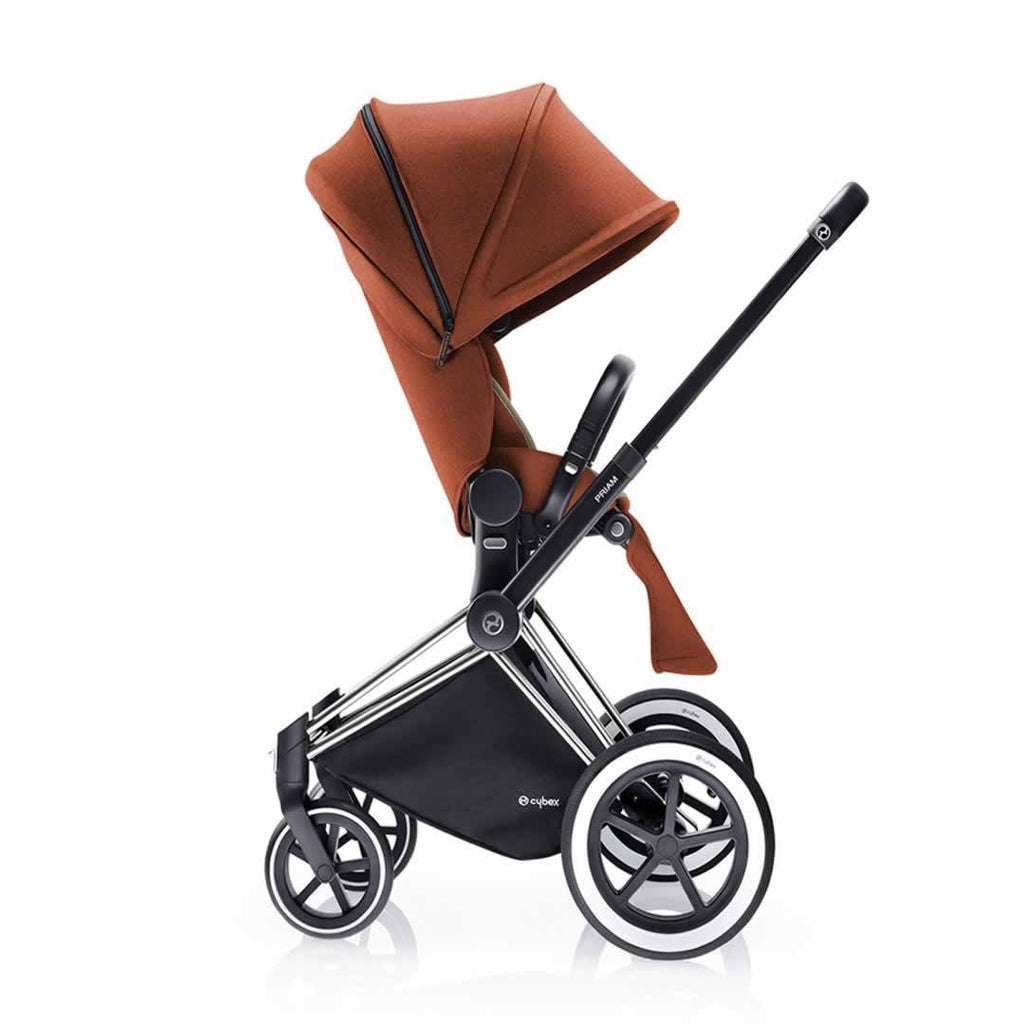 Cybex Priam Pushchair with Lux Seat Side Autumn Gold