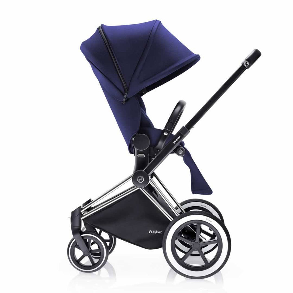 Cybex Priam Pushchair with Lux Seat Side Royal Blue