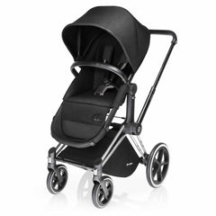 Cybex Priam Pushchair with 2-in-1 Light Seat in Happy Black