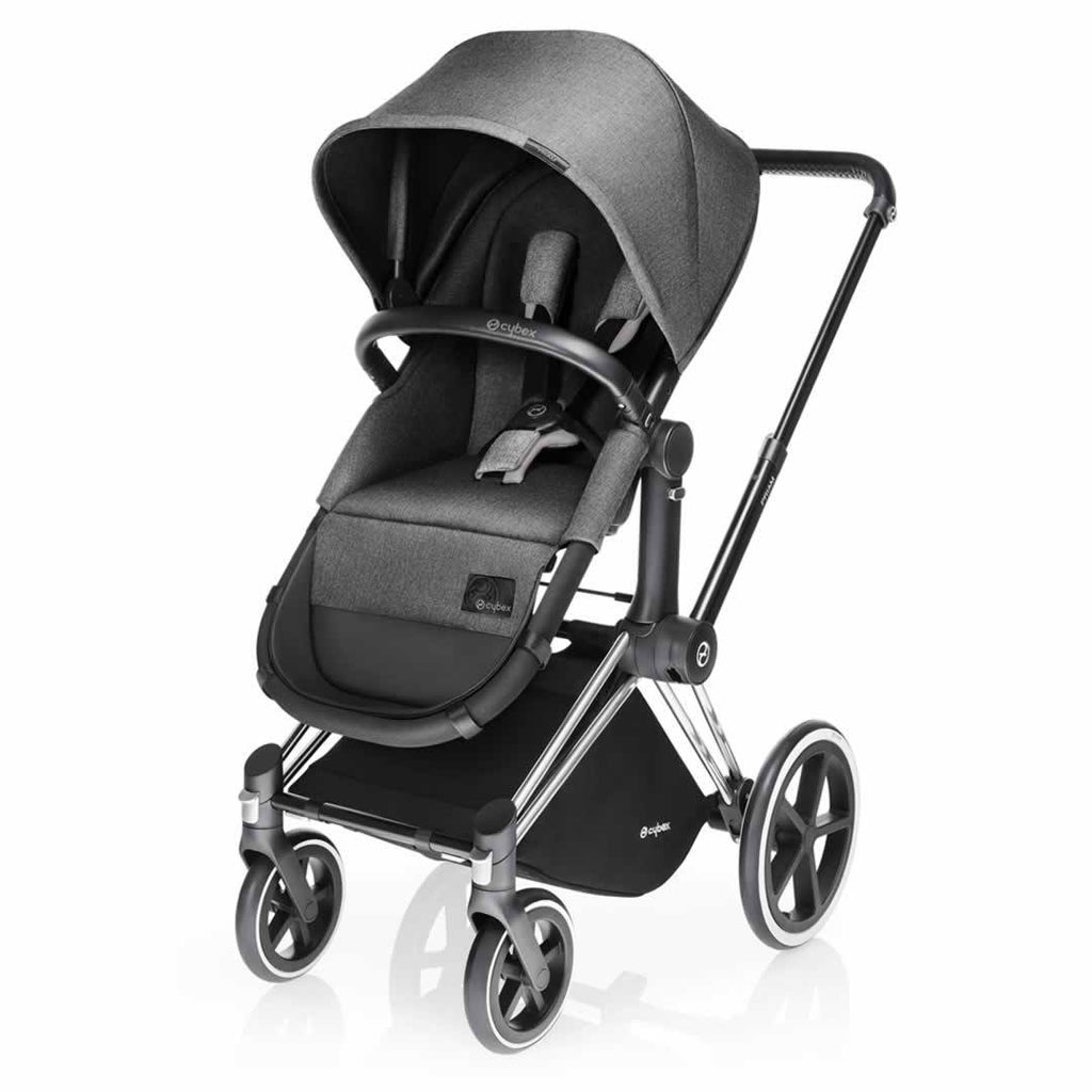 Cybex Priam Pushchair with 2-in-1 Light Seat Manhattan Grey