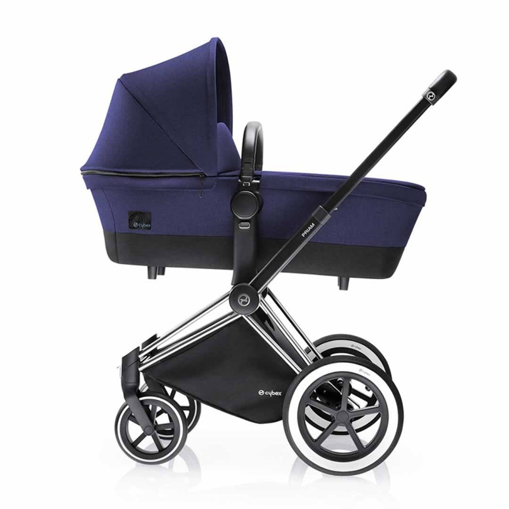 Cybex Priam Pushchair with 2-in-1 Light Seat in Royal Blue Carrycot