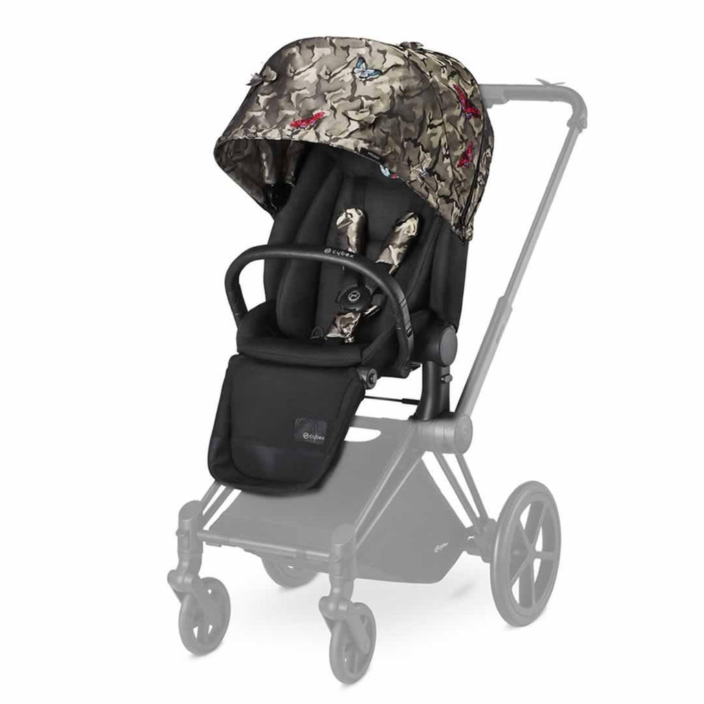 Cybex Priam Lux Seat - Butterfly-Stroller Seats- Natural Baby Shower